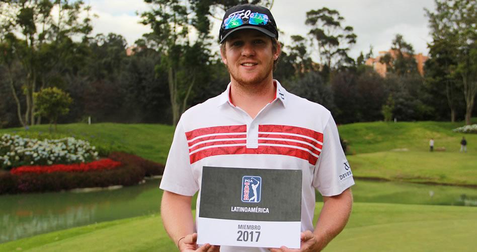 El estadounidense Ian Davis aseguró condición completa para la temporada 2017 de PGA TOUR Latinoamérica. (PGA TOUR)