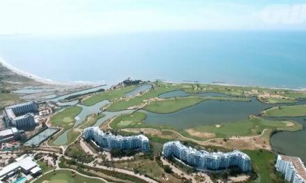 Vídeo, cancha de golf TPC Cartagena en Karibana