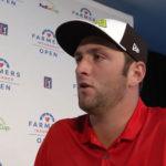 Vídeo, entrevista a Jon Rahm tras la victoria en el Farmers Open