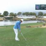 Video, golf en las rocas por Emiliano Grillo producido en La Quinta, California