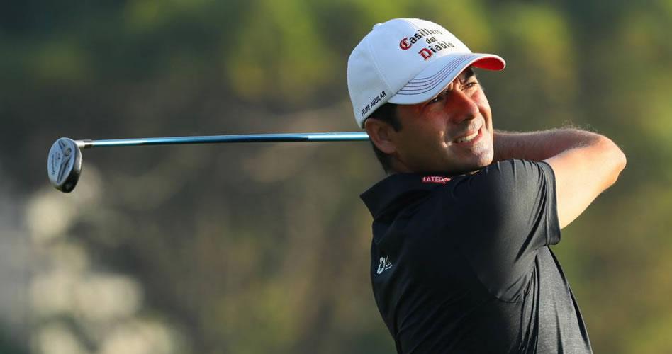 Aguilar desciende a la casilla 50° en negativa jornada en Dubai; García es el único puntero