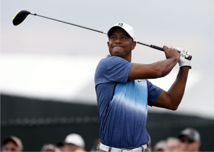 Tiger Woods. Foto: Cordon