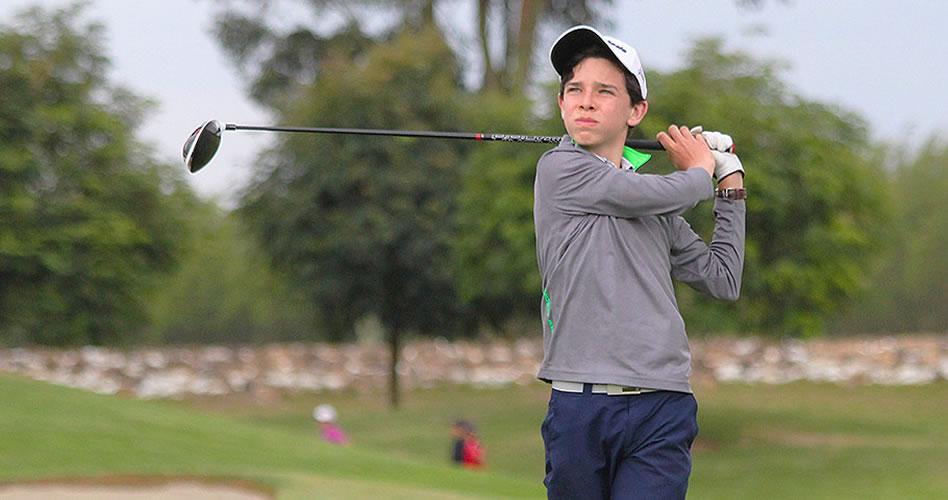 El juvenil Esteban Jaramillo estará nuevamente en el Club Colombia Championship del Web.com Tour
