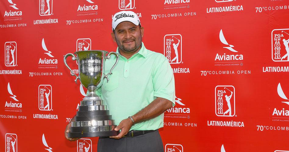 El mexicano José de Jesús Rodríguez, el gran campeón del 70º Avianca Colombia Open en Guaymaral