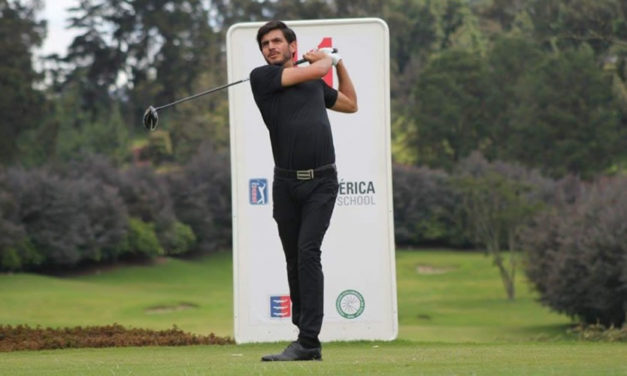 El venezolano Rafael Guerrero, una nueva estrella del golf internacional