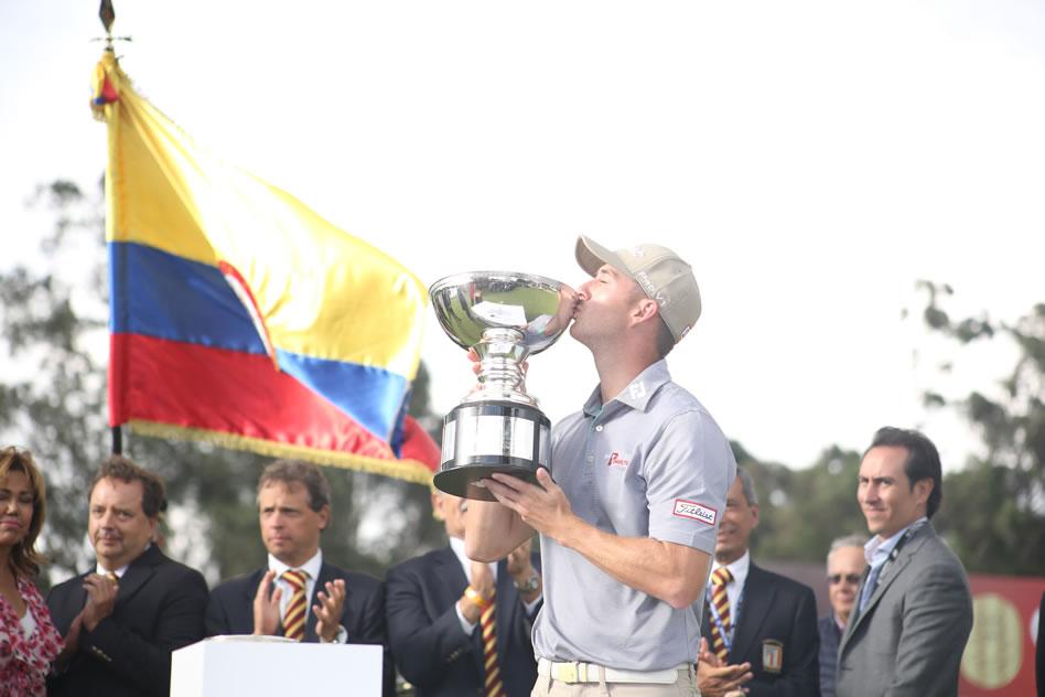 Ethan Tracy, el gran campeón del Club Colombia Championship by Servientrega (cortesía: GolfLink)