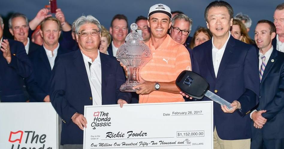 Fowler mantiene su ventaja y obtiene su cuarto título del PGA Tour en el Honda Classic