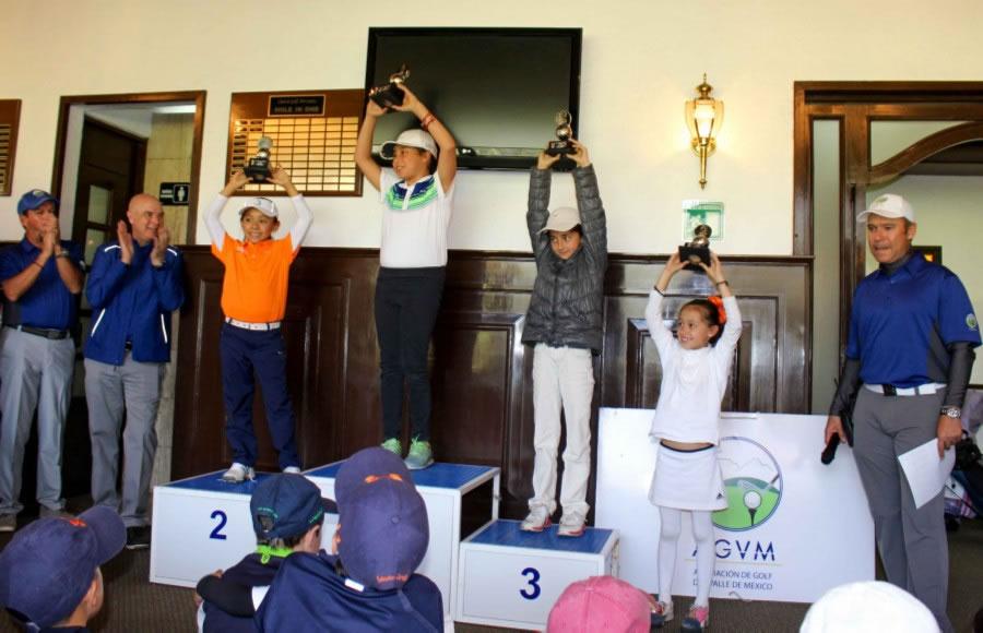 Golfistas del Valle de México al máximo nivel, previo a la final de la Gira AGVM
