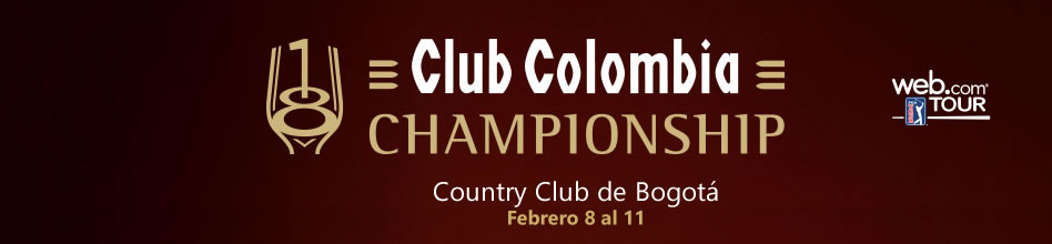 Club Colombia Championship. Country Club de Bogotá - febrero 8 al 11