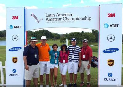 Imágenes memorables para la historia del golf Latinoamericano