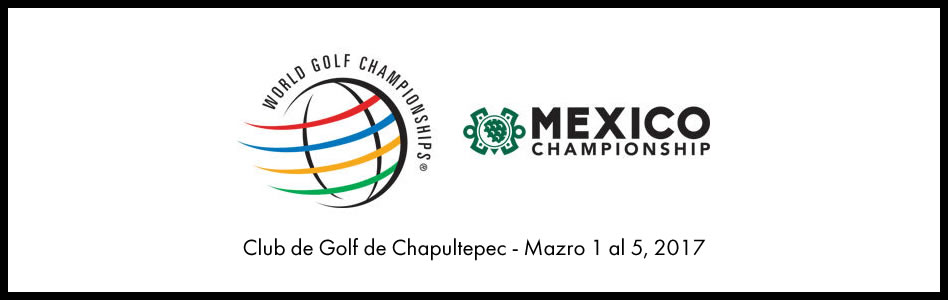 Jugadores en carrera por clasificar al acercarse la fecha límite para el World Golf Championships-Mexico Championship