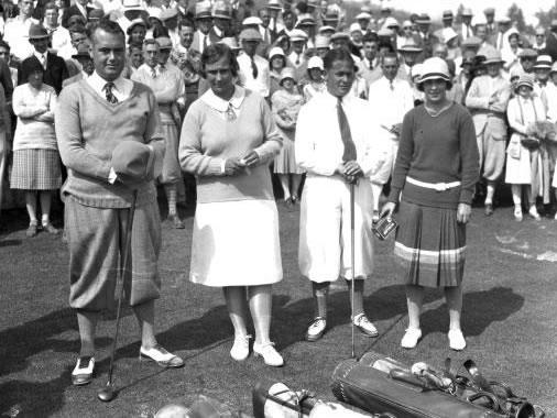 Marion Hollins, la golfista nacida libre (cortesía pasatiempo.com)