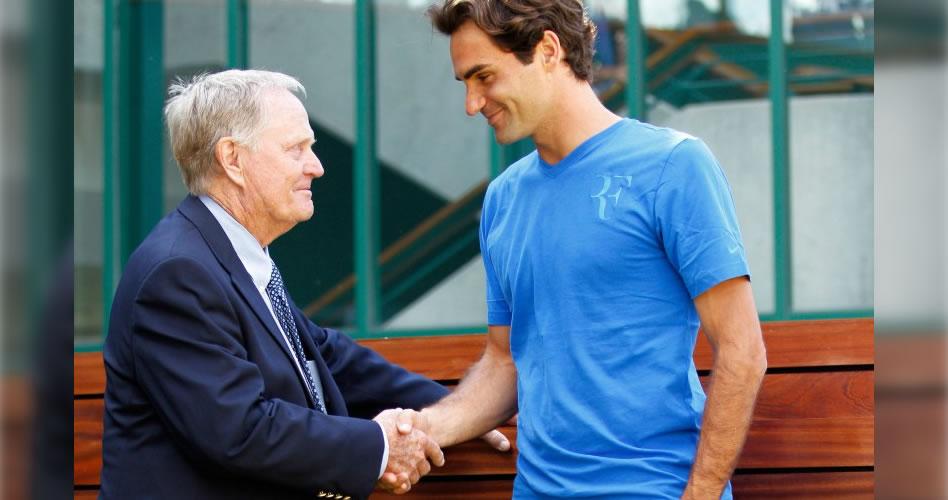 """Nicklaus le da la bienvenida a Federer al 'club de los 18 majors': """"Espero que siga ganando Grand Slams"""""""