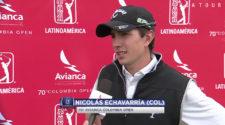 Nicolás mostró calidad con 2do lugar en el 70º Avianca Colombia Open