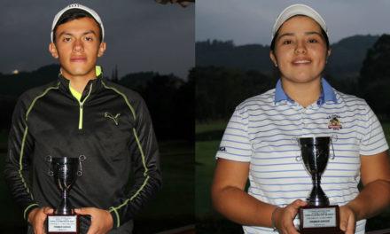 Óscar Vargas y Valery Plata, campeones del IX Torneo Infantil y Juvenil del Club Militar