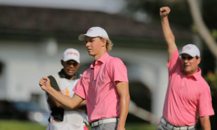 Paul Chaplet añade otro trofeo a su vitrina al ganar el Centroamericano Amateur de golf
