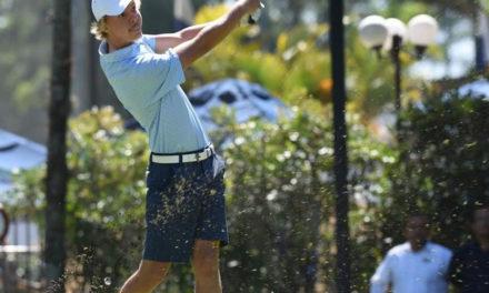 Paul Chaplet lidera el Centroamericano Amateur de Golf