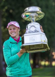 Brooke Henderson gana el Womens PGA Championship (cortesía The Seattle Times)