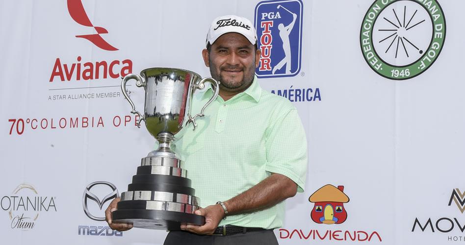 Rodríguez campeón en Colombia