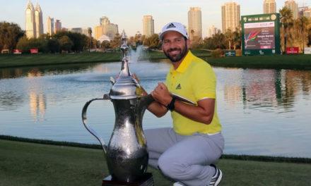 Sergio García inaugura una nueva edad de oro del golf español con su triunfo en Dubai