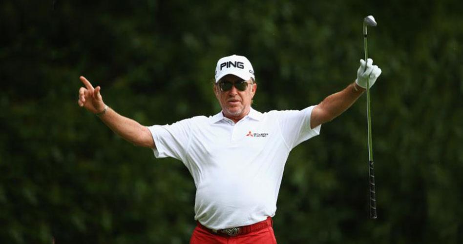 Solo Fred Couples pudo privar a Miguel Ángel Jiménez de su cuarta victoria en el PGA Champions Tour