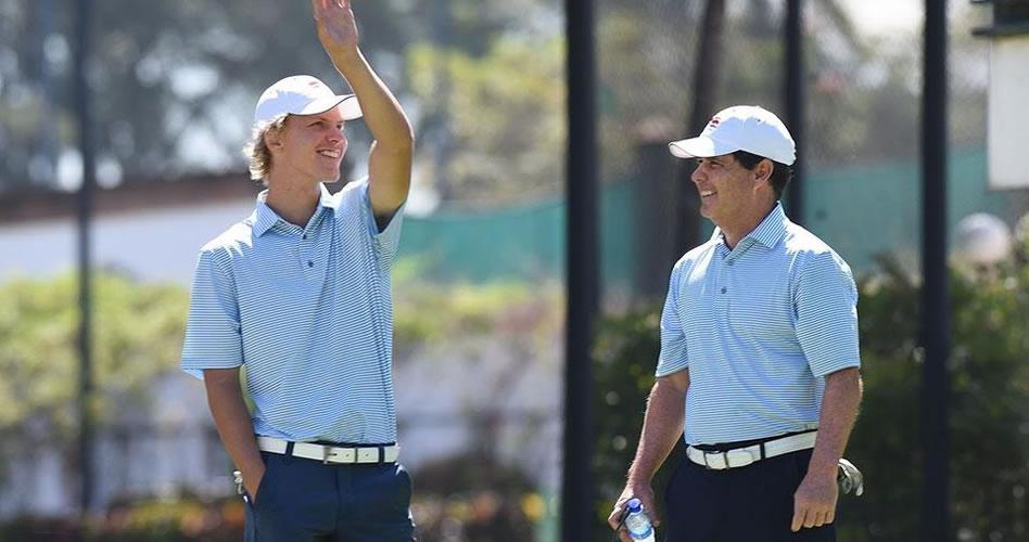 Tercera ronda de Centroamericano de Golf fue un duelo entre Paul Chaplet y Álvaro Ortiz
