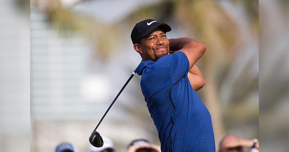 Tiger Woods se retira en Dubai antes de salir a jugar la segunda ronda
