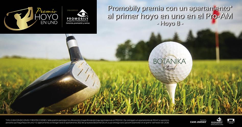 Un premio espectacular se dará en el Pro-Am del 70 Avianca Colombia Open