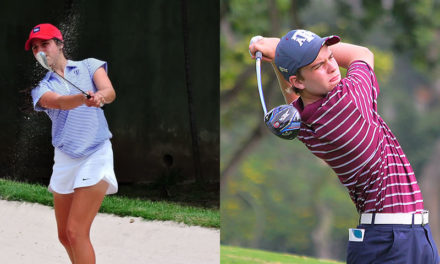 Valentina Gilly y Konrad Brauckmeyer van a Sudamericano Juvenil de Golf