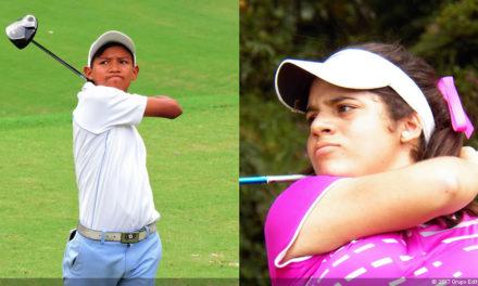 Amauriel Fernández y Claudia Perazzo campeones en Torneo Juvenil de FVG