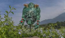 Chileno Espinosa inspirado con Volcán Fuego Maya lleva parcialmente 10 bajo-par (cortesía GolfSwinger)