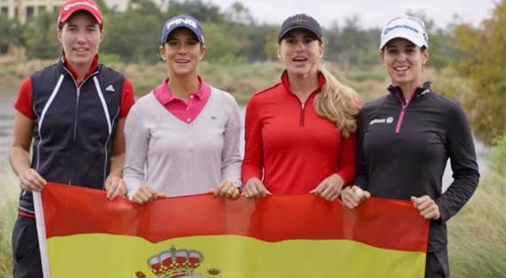 Cinco milenials que hacen historia en el golf femenino español