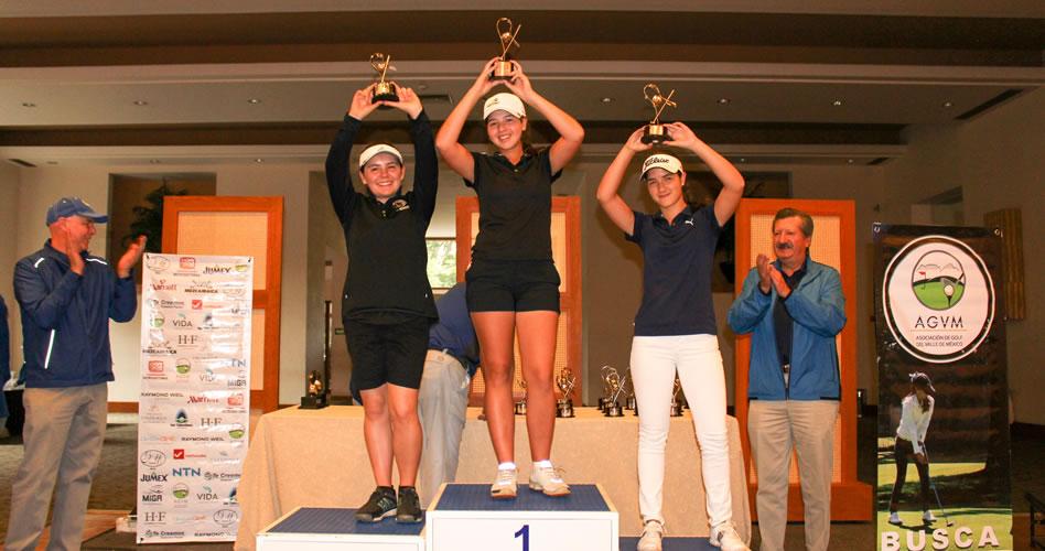Culmina el principal serial de golf infantil-juvenil del Valle de México