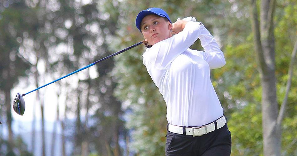 Daniela González, ganadora el pasado fin de semana en la AJGA