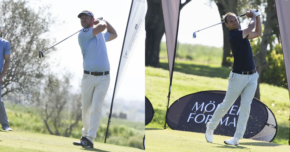 Doble liderato en la segunda ronda del primer torneo del Gambito Golf Tour en Peralada