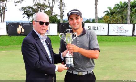 Édgar Zea fue campeón amateur del Abierto Lagunita Country Club