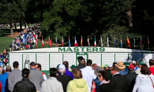 El último día en el Masters