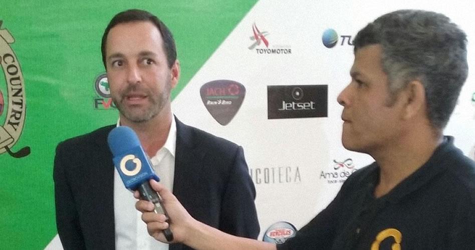 """""""Es gratificante ser parte del futuro del Abierto de Golf Lagunita Country Club"""""""