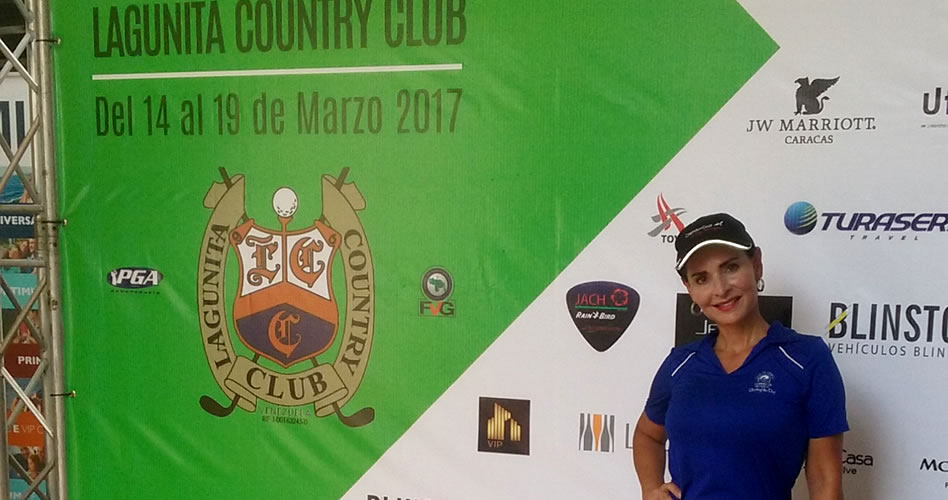 Francis Fortino, gana Abierto Club Lagunita CC Categoría Damas