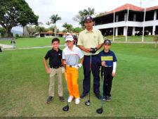 Grande quedó el ProAm de menores junto a los profesionales de Venezuela