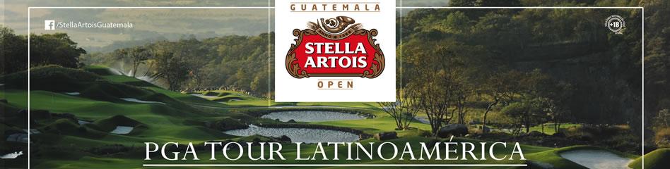 Guatemala Stella Artois Open 2017. La Reunión Golf Resort & Residences, Marzo 16 al 19