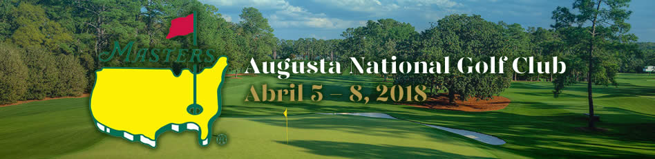 The Masters, Augusta National Golf Club. Abril 5 - 8, 2018