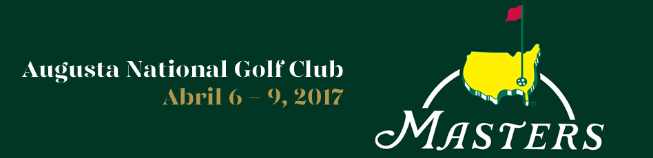 Augusta Masters. Augusta National Golf Club. Abril 6 - 9, 2017