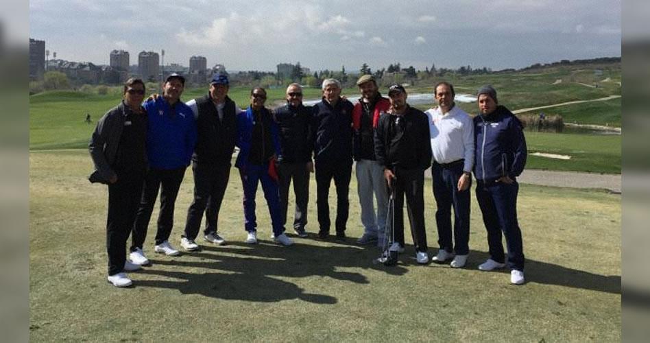 Histórica visita del equipo cubano de golf a España