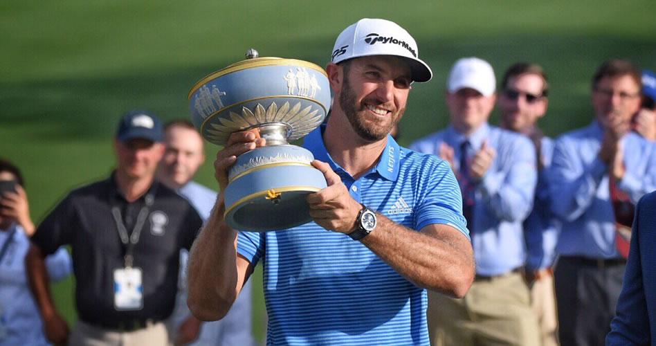 Johnson se afianza como el dominador del golf mundial con ajustado triunfo sobre Rahm en el WGC-Dell Match Play 2017