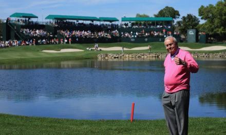 """Jugadores del Arnold Palmer Invitational 2017 se unen para realizar emotivo homenaje al """"Rey"""""""