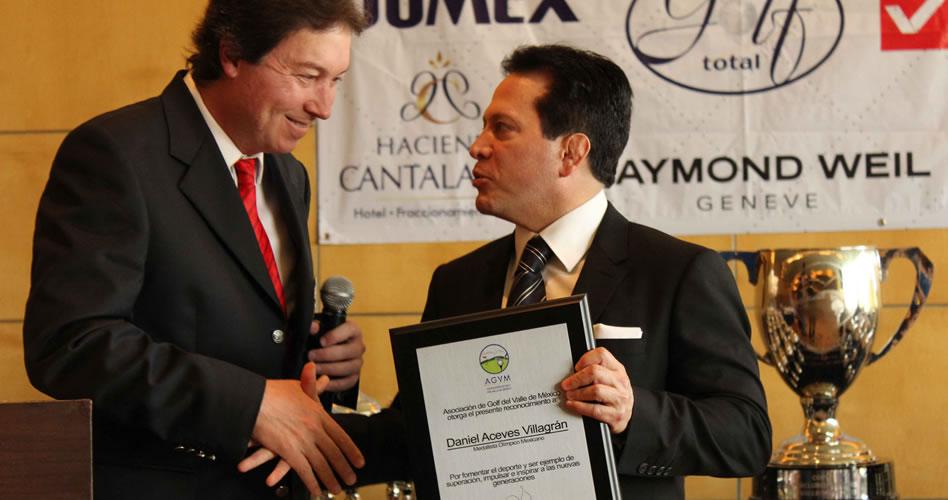 La AGVM reconoce al medallista olímpico Daniel Aceves, por su impulso al deporte