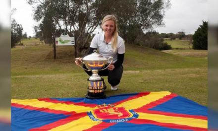 La sueca Frida Kinhult consigue la victoria en la Copa S. M. La Reina