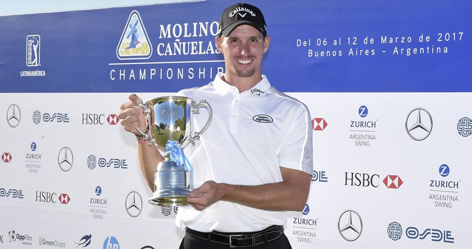 Nicolás Echavarría, puesto 36 al final del Molino Cañuelas Championship en el PGA TOUR Latinoamérica