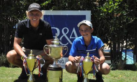 Paul Chaplet y Charles Van Slyck son los campeones nacionales en parejas de golf